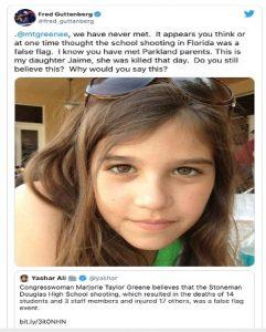 Georgia congresswoman believes Parkland school massacre was 'false flag planned shooting'