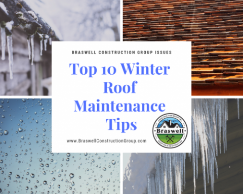 Roofing Contractor Covington GA Braswell Construction Group Issues Top 10 Winter Tips